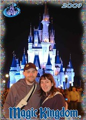 Magic Kingdom: Shawn & I with Cinderella's Castle