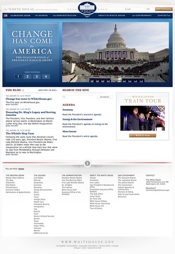 Welcome to the White House (20090120)