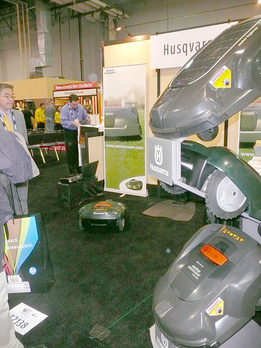 Husqvarna Automower: Lawn Mowing Robot by LauraMoncur from Flickr