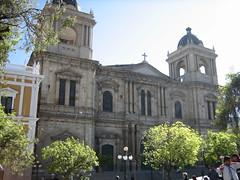 Plaza Murillo : la cathdrale (So_P) Tags: plaza architecture square la place cathedral catedral paz bolivia cathdrale architektur lapaz bolivie murillo