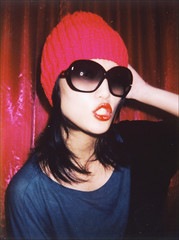 More Spotlight, please! (Twiggy Tu) Tags: film me sunglasses taiwan taipei nightlife 2009 twiggy instax tomford aplusphoto photobynia atroom fujiinstaxmini50 tomfordeyewear