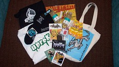 Swag Bag from event by Lyfetime