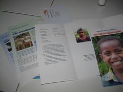 Booklet berisi data anak & buku pedoman penyantunan