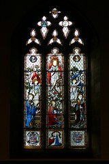 West window, St. Nicholas - South Kilworth