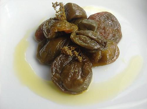 Peperoni salati all'olio d'oliva