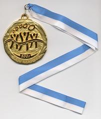 MEDAGLIA D'ORO VOLLEY 2001 (valentini federico) Tags: 2001 gold san europe small games medal marino giochi medaglia oro stati piccoli