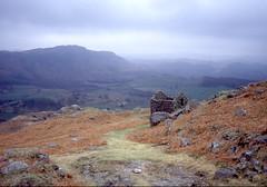 Ruin overlooking Eskdale (mountain wanderer) Tags: mountain landscape ruins lakedistrict hut cumbria eskdale funfanphotos rainforestink
