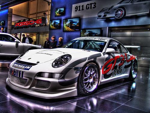 Porsche 911 GT3 Carrera Cup Racing Car (Deutschland) - Geneva Motorshow