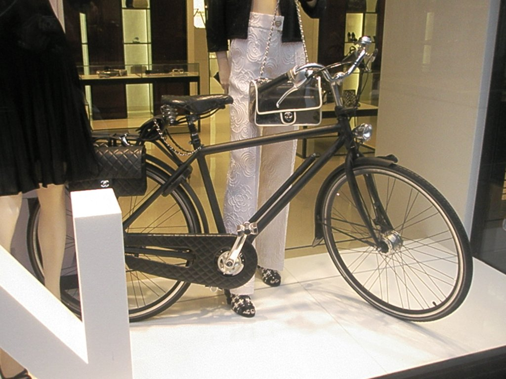 chanel bicycle.