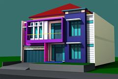 View Rumah 3D Duren Sawit by Indograha Arsitama Desain & Build
