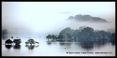 IMG_9796a-1 (Sam's Exotic Travels) Tags: trees sunset mist art water misty sunrise reflections hills srilanka dambulla amayalake mywinners travelerphotos visionqualitygroup