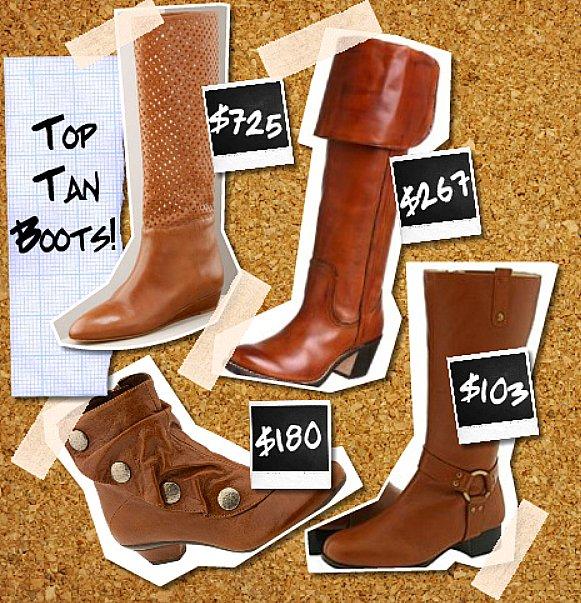 Top tan boots