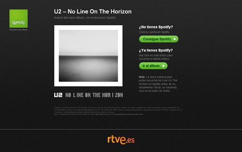 Spotify - U2 - No Line On The Horizon (20090223)
