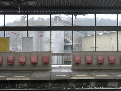 praha holesovice station.