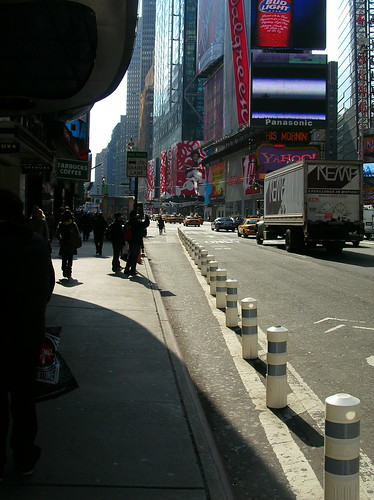 Times Square Bike Lane