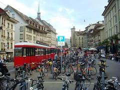 Bern's downtown_Bike's parking (Brazilian Traveller) Tags: italy paris france switzerland marseille spain espanha europa europe italia geneve luzern frança ferrari toledo verona versailles calanques catacombes genebra