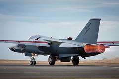 F-111 Full heat! (Steven Pam) Tags: plane airplane pig fighter aviation military jet aeroplane airshow raaf avalon aardvark f111 f111c avalon09 a8134