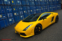 Yellow Gallardo SE (Julien Rubicondo Photography - julienrubicondo.com) Tags: orange nature wheel yellow de grey se nikon geneva geneve box montecarlo monaco special terre salon carlo monte d200 tuner mate rim rims tuning edition genve lamborghini luxury rare luxe tyres tyre gallardo lambo tuned palexpo caliper lamborghinigallardo pzero affolter lauto lp5604 supeleggera