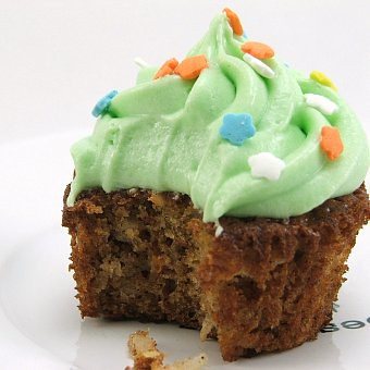 Carrot Coconut Cupcake
