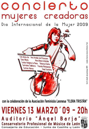 """DÍA INTERNACIONAL DE LA MUJER´09 - CONCIERTO """"MUJERES CREADORAS"""" - INTERNATIONAL WOMEN´S DAY´09"""