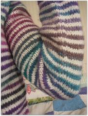 FO: stripe-tac-ular sleeve
