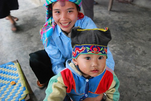 zay mother and baby, ban ho village