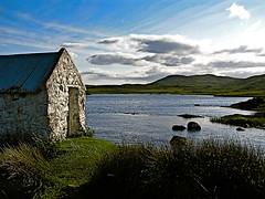 Gone Fishing (Sian Bowi) Tags: 2005 ireland connemara countygalway fishinghut