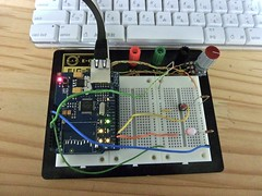 Arduino OSC Library Test Circuit