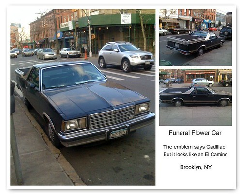 Cadillac Funeral Flower Car