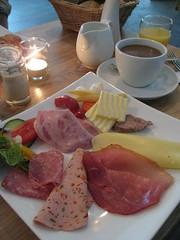 Berliner breakfast (charclam) Tags: berlin breakfast sausage frhstck