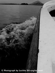"Let the mountains talk, let the rivers run. Once more, and forever. (Lasitha Imali Gunarathne: ""Ayubowan Sri Lanka"") Tags: blackandwhite fun island boat boatride dambulla the4elements lettheriversrun sathutudupatha sathutu"