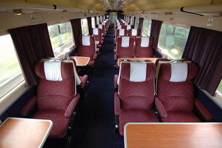 Train Chartering - First Class carriage in UK private charter train