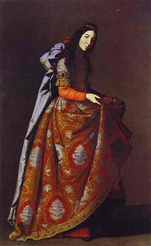 Zurbaran, Francisco de (1598-1664) - 1630-45 St. Casilda