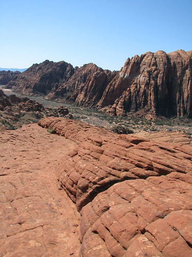 petrified dunes at snow canyon