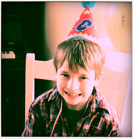 Liam's 8th birthday