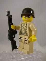 BrickArms BAR Prototype 02 (enigmabadger) Tags: lego accessories custom 2009 prototypes brickfest brickarms