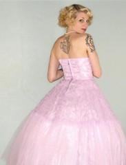 Purple Dress on ebay: FabGabsVintage (Twila Jean) Tags: woman me vintage ebay dress prom 1950s 50s