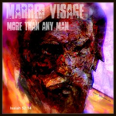 His Visage Was Marred More Than Any Man (Heart Windows Art) Tags: art digital poster effects cross jesus sin bible sensational inspirational visage verse crucified marred multimegashot