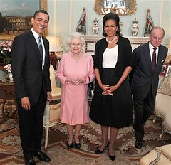 The Obamas and the Windsors