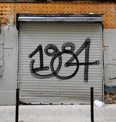 1984 (lepublicnme) Tags: streetart paris france square march belleville explore 1984 orwell shutter 2009 woostercollective carr ekosystem carrfranais