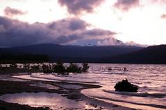 (.lynnea.) Tags: sunset lake crescentlake oregondiamondpeak