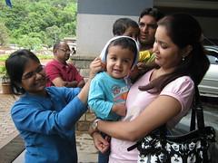 Samit playing along (Ankur P) Tags: fortune pune itc lavasa