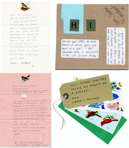 mysterious letters to everyone in the world