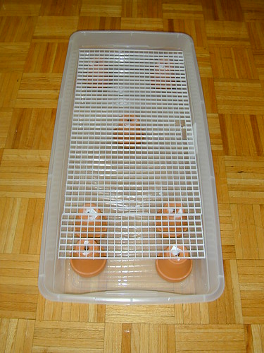 egg crate diffuser panel