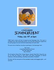 Scavenger Hunt 2009