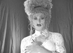 hostess_107 (Heather Renee) Tags: fetish capri heather smoking transgender more transvestite crossdresser 120s