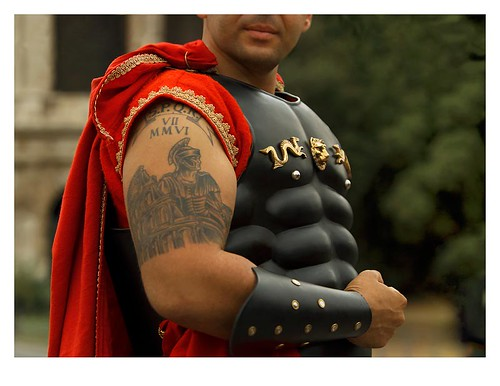 spqr tattoo. S.P.Q.R.