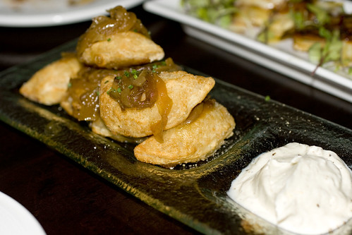 Potato and Goat Cheese Pierogies