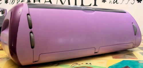 Faithfule's Purple Cricut Machine