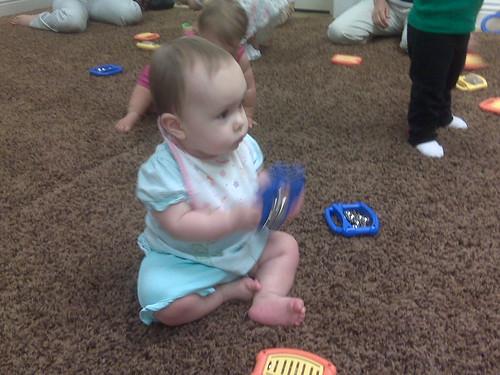 Em's first music class